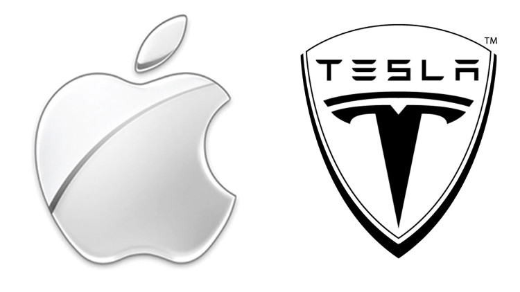 apple buying Tesla