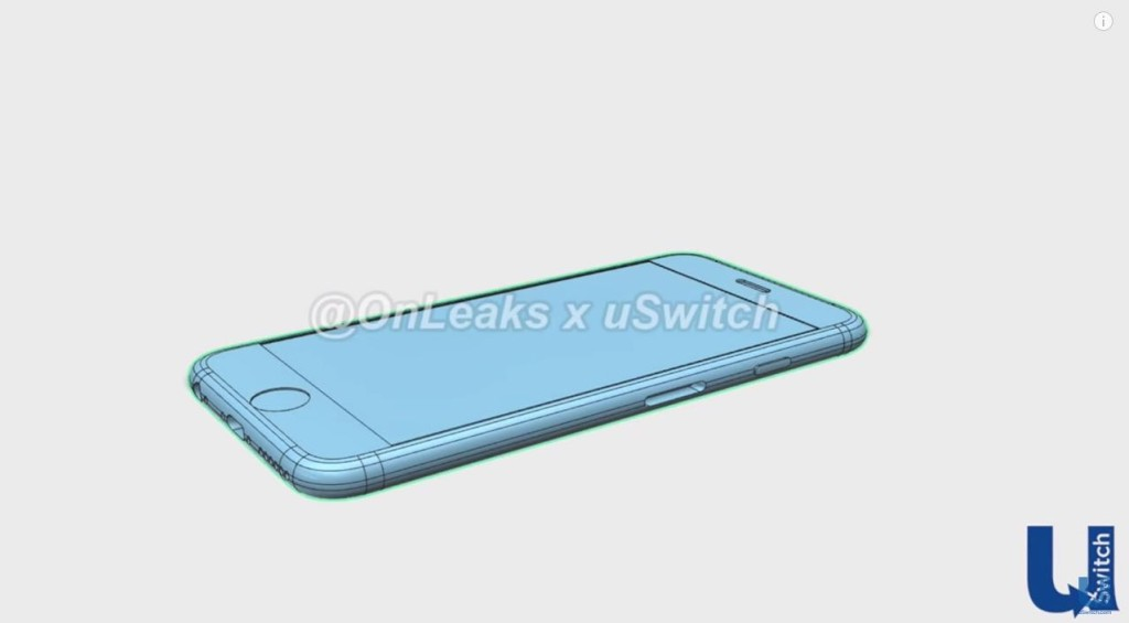 CAD iPhone 6s front