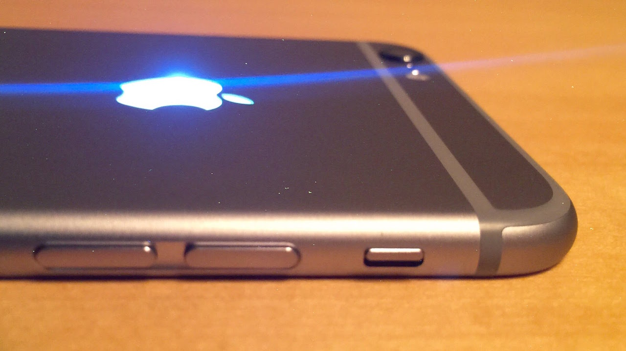 Glowing Up Apple Logo With Backlit Kit For Iphone 6 And 6 Plus
