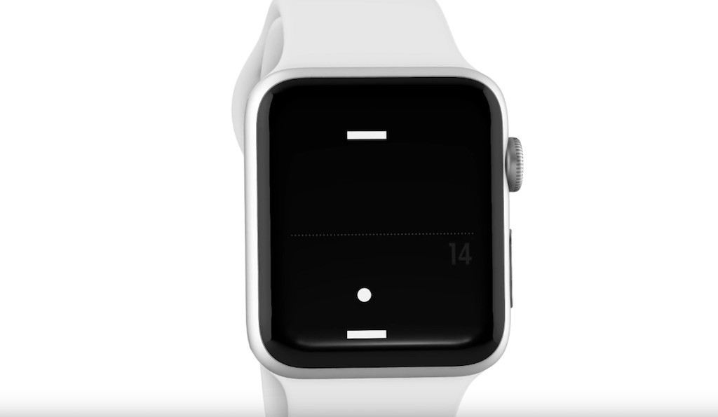 Tiny Pong Apple Watch - 1
