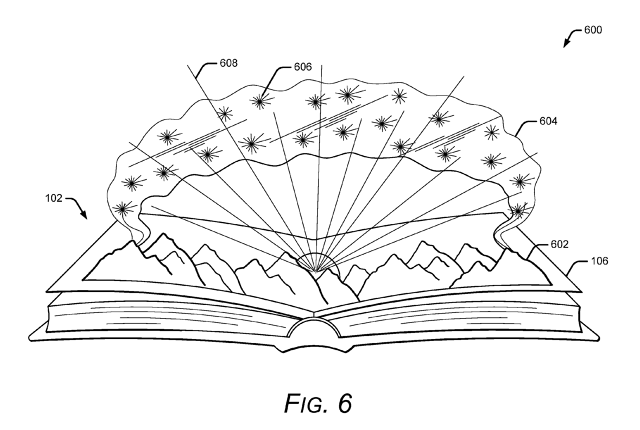 Google Patented Augmented Reality for Books - 2