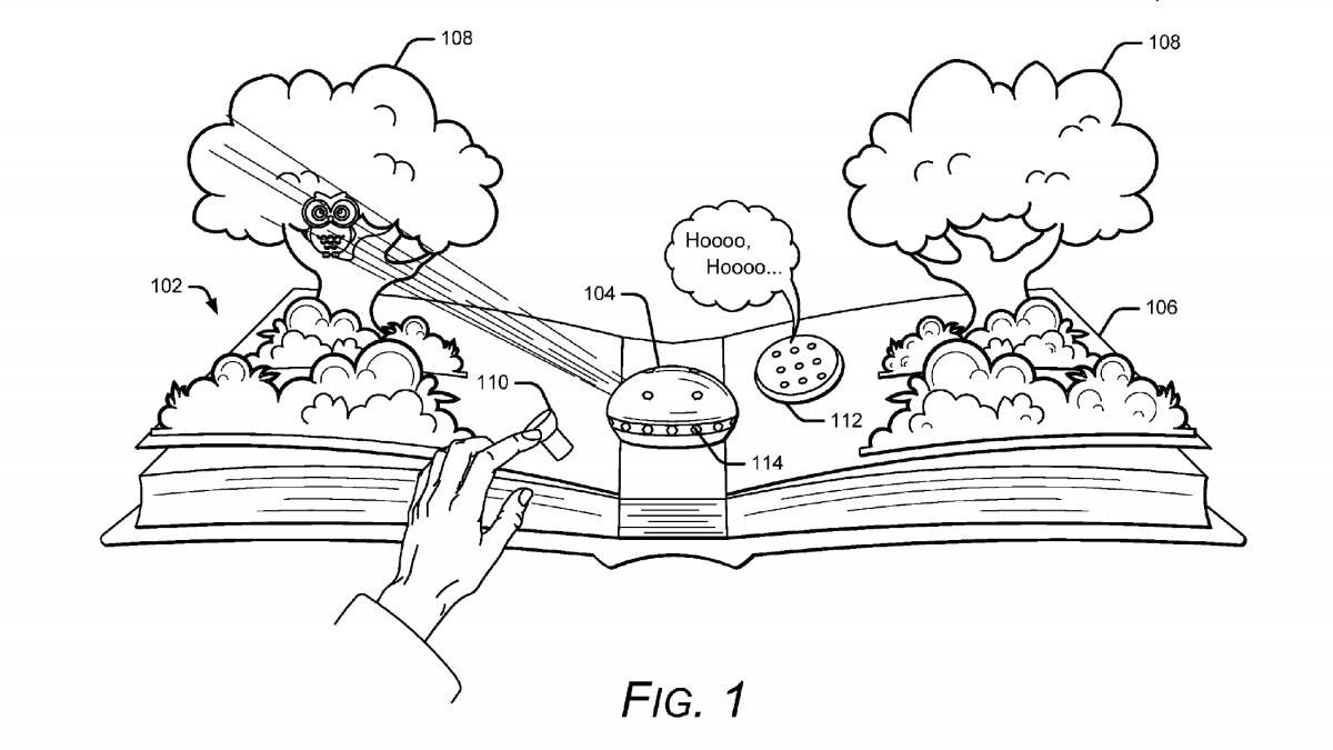 Google Patented Augmented Reality for Books - 4