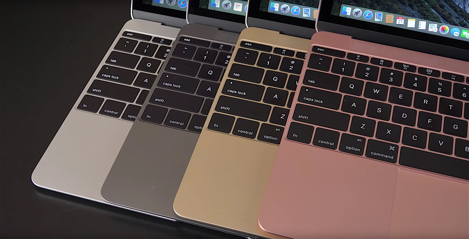 12-inch Macbook Different Colors - 2