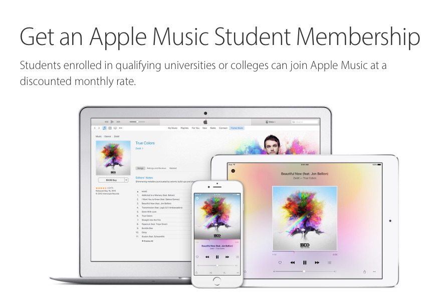 Apple Music Student Membership - 1
