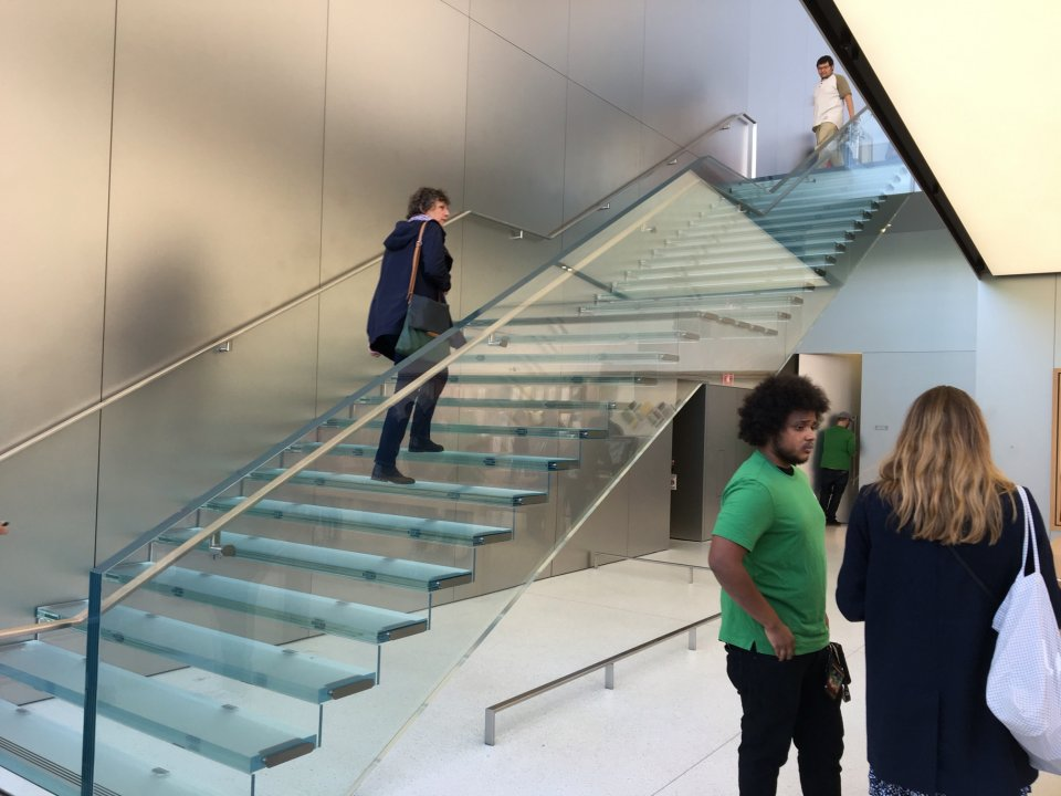 $1 Million Staircases In The New San Francisco Apple Store - H3LLOWRLD
